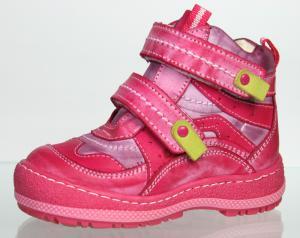 Розовые ботиночки на осень