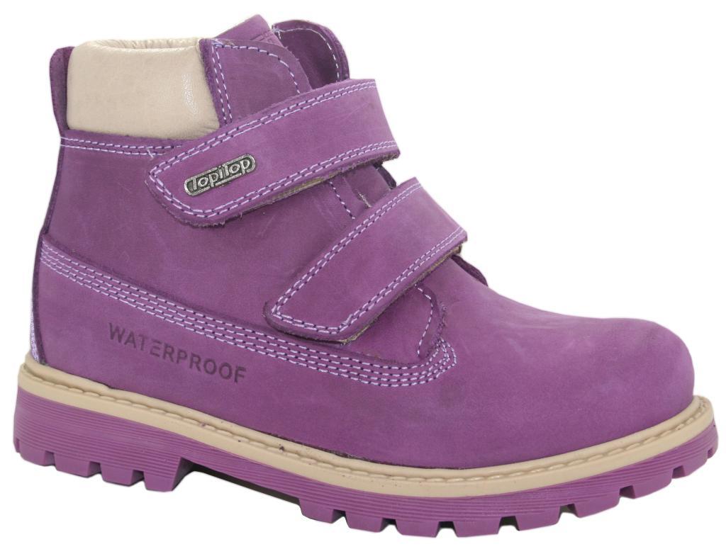 73a1a7a0f3fd20 Купить Ботинки зимние TOPITOP 900 фиолетовые - Интернет магазин