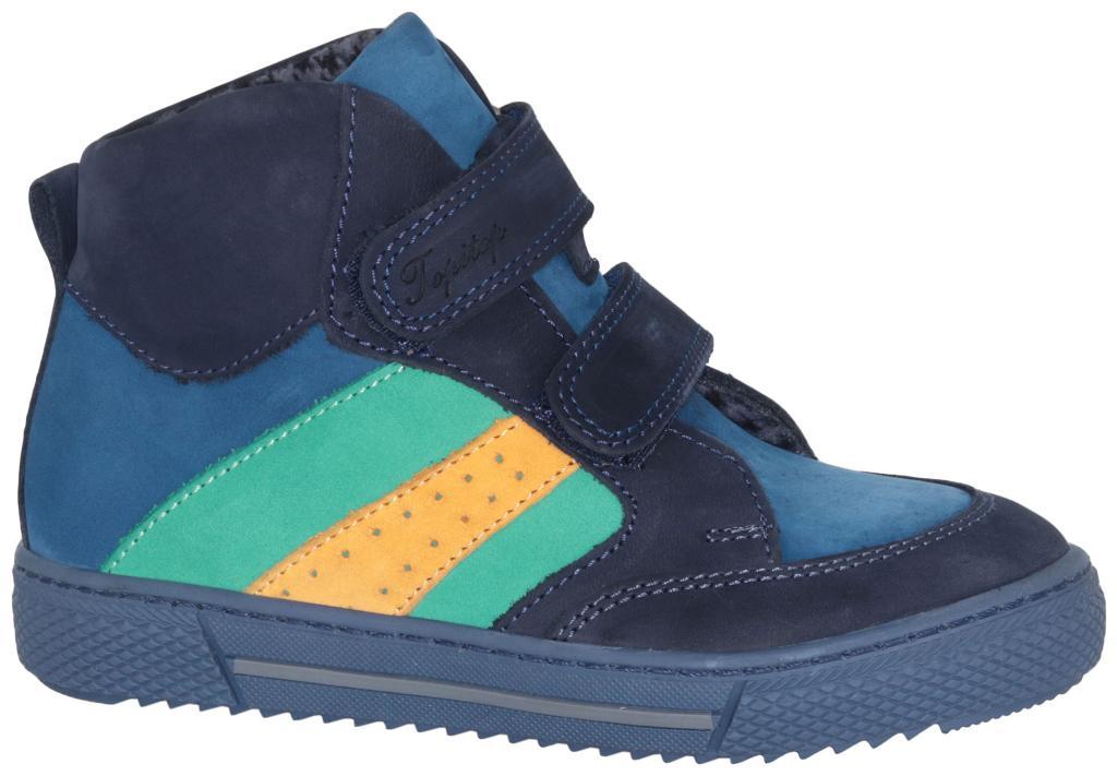 c5eff5f06 Ботинки осенние TOPITOP 1205 синие, нубук - Интернет магазин