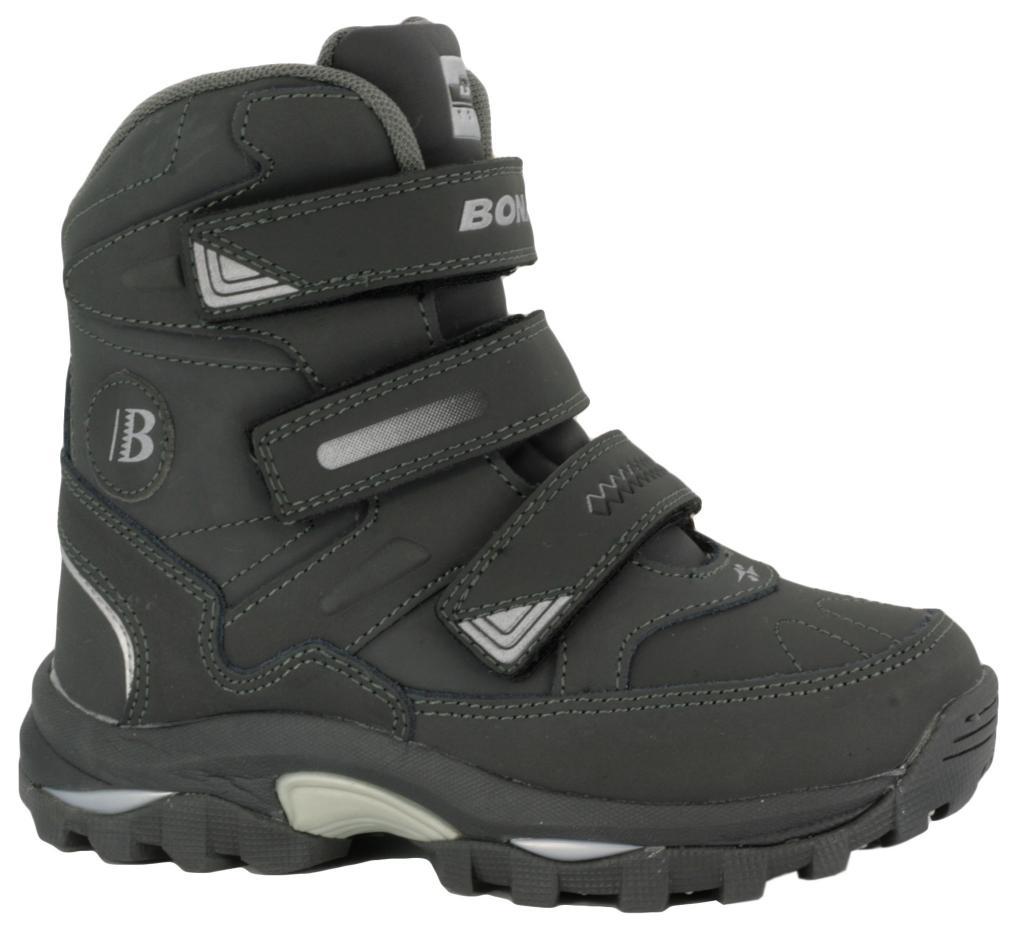 a8c03682 Ботинки зимние BONA 33112 серые - Интернет магазин