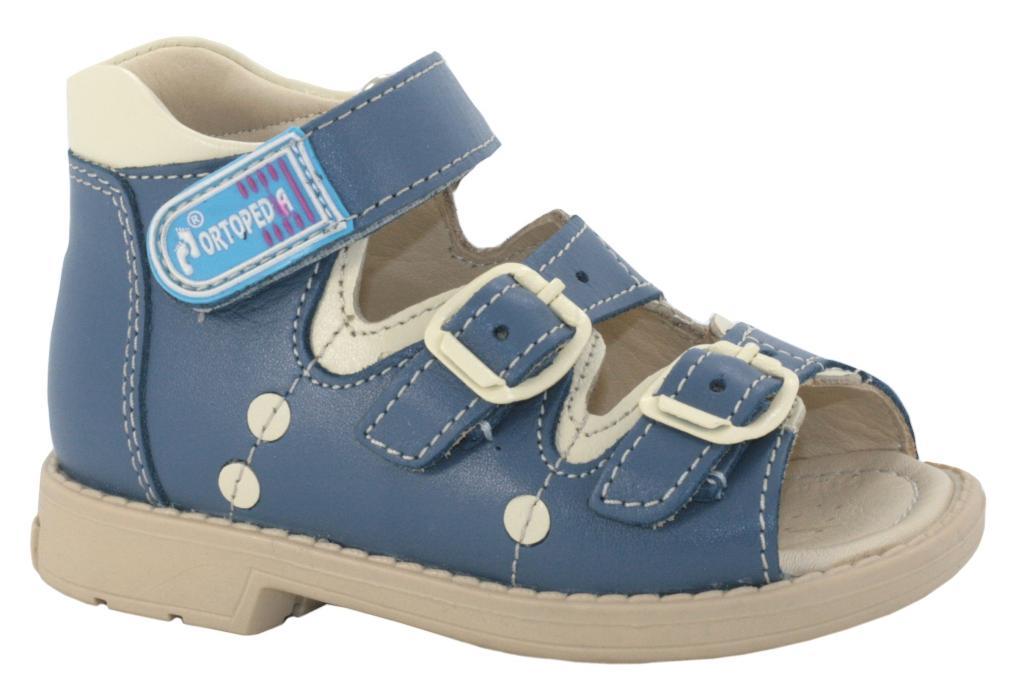 8b638a9ce Акция! Детские Сандалии Ortopedia 301 голубые. ‹ ›